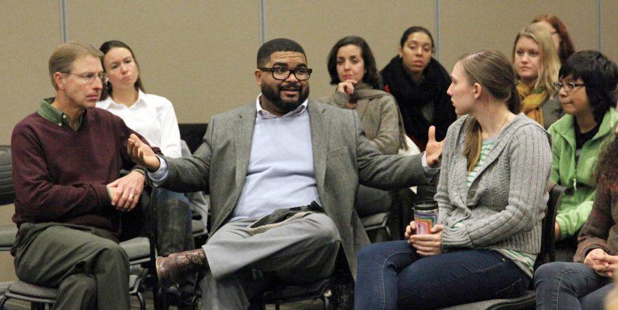 Campus+forum+discusses+racial+justice