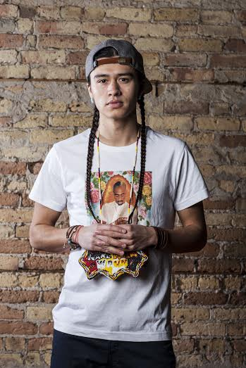 Hip-hop artist, Frank Waln will perform in hopes of spreading knowledge about indigenous people on Jan. 22. Photo provided by Frank Waln.