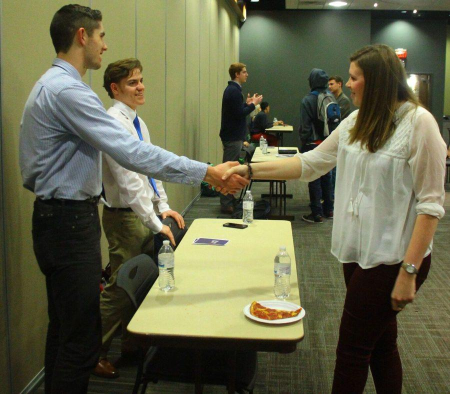 Students+had+a+chance+to+meet+each+of+the+candidates+for+SGA+president+and+vice+president+on+Monday+night.