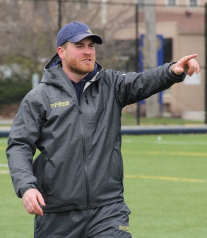 New men's lacrosse coach works to build strong program