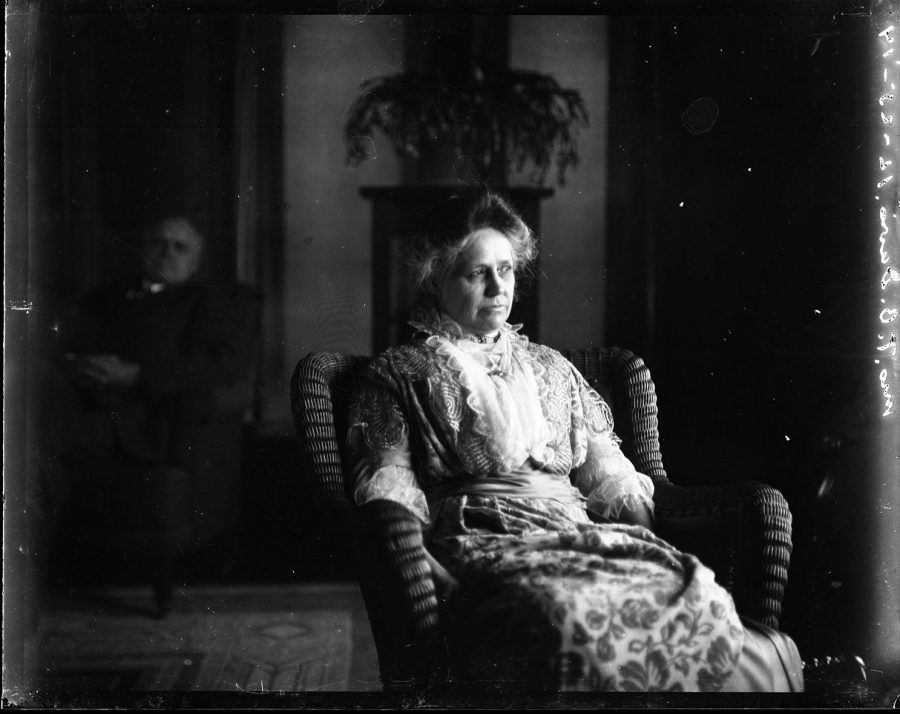 Apollonia+Weyerhaeuser+Davis%2C+pictured+here+in+1914%2C%0Alived+in+House+on+the+Hill+for+her+entire+life+until+her+death+in+1953.+She+is+rumored+to+still+haunt+its+halls.%0A%EF%BF%BCPhoto+courtesy+of+Augustana+Special+Collections+