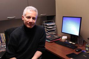 New Musical Theatre Professor Michael Carrera. Photo by Lu Gerdemann.