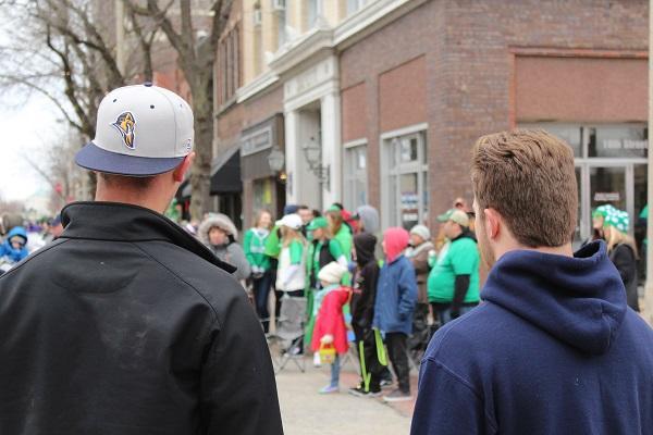 The Augustana community celebrates St. Patricks Day