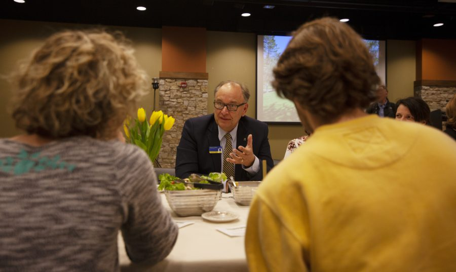 Augustana hosts small conversations in hopes of big change