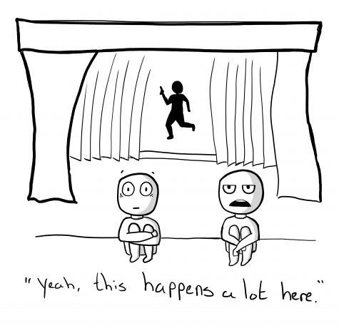 Cartoon by Kevin Donovan.