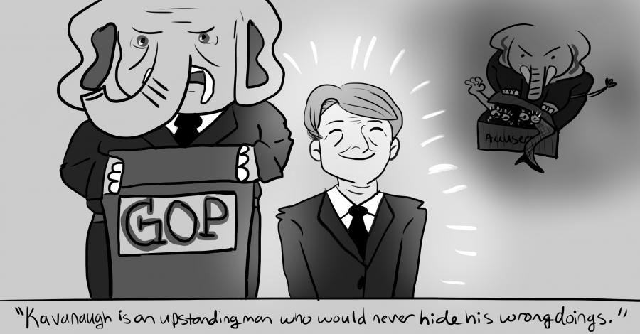 Cartoon by Cassie Talbot.