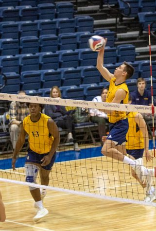 Men's volleyball starts off season with loss at home
