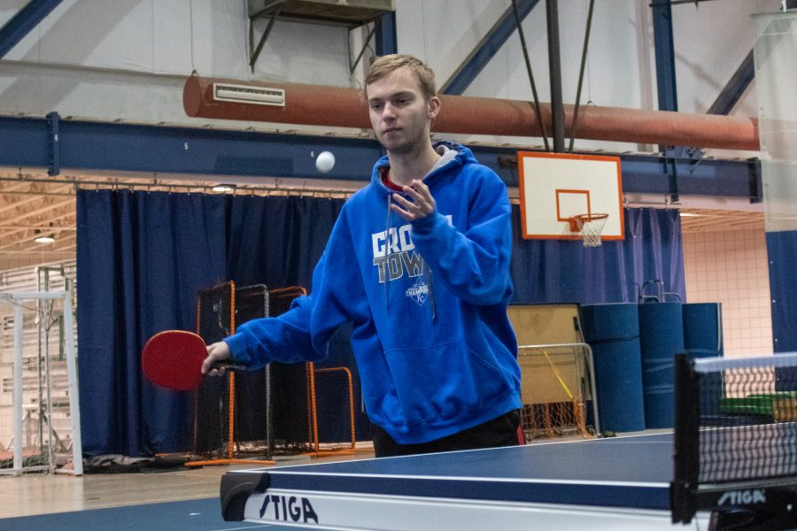 New club on campus: Ping Pong Club