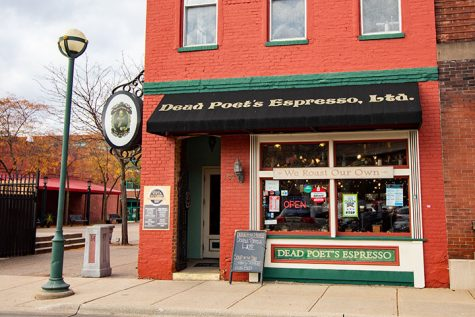 Dead Poet's Espresso, a local coffeehouse located at 1525 3rd Ave in downtown Moline, IL, serves up fresh brews, warm breakfasts and lunches daily. Open 6:30 am to 4 pm Monday through Saturday, Dead Poet's Espresso is a popular and tasty choice for a local Fall date with your significant other.