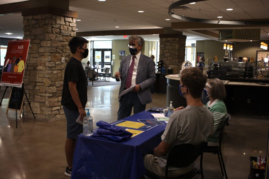 Vikings create change through registration and education