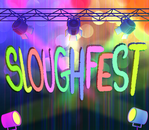 Sloughfest celebrates end of finals week